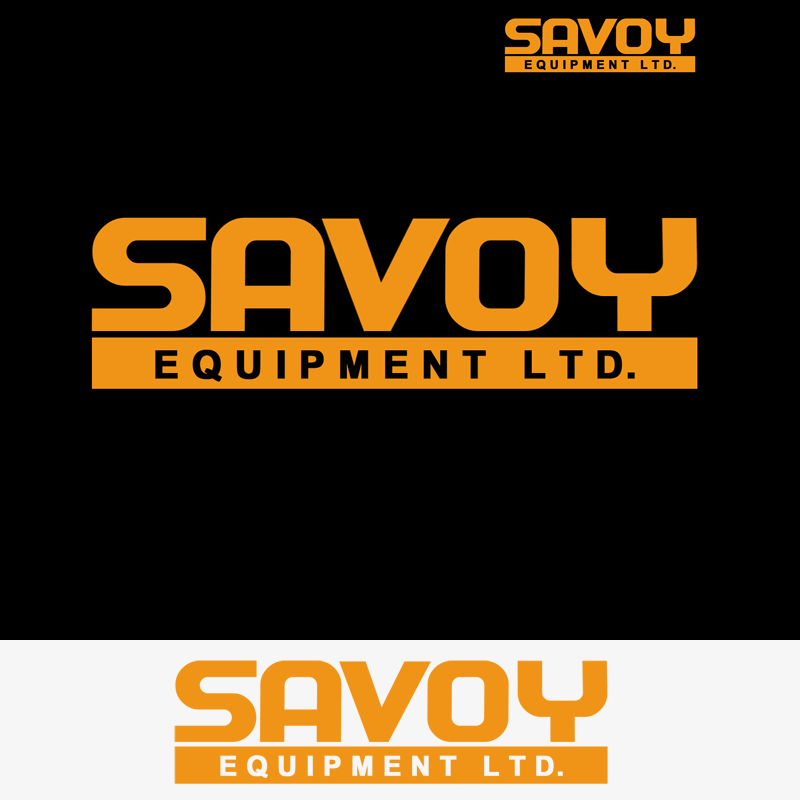 Logo Design by Private User - Entry No. 68 in the Logo Design Contest Inspiring Logo Design for Savoy Equipment Ltd..