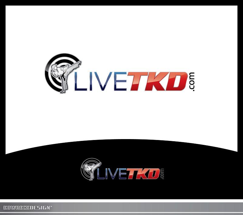 Logo Design by kowreck - Entry No. 191 in the Logo Design Contest New Logo Design for LiveTKD.com.