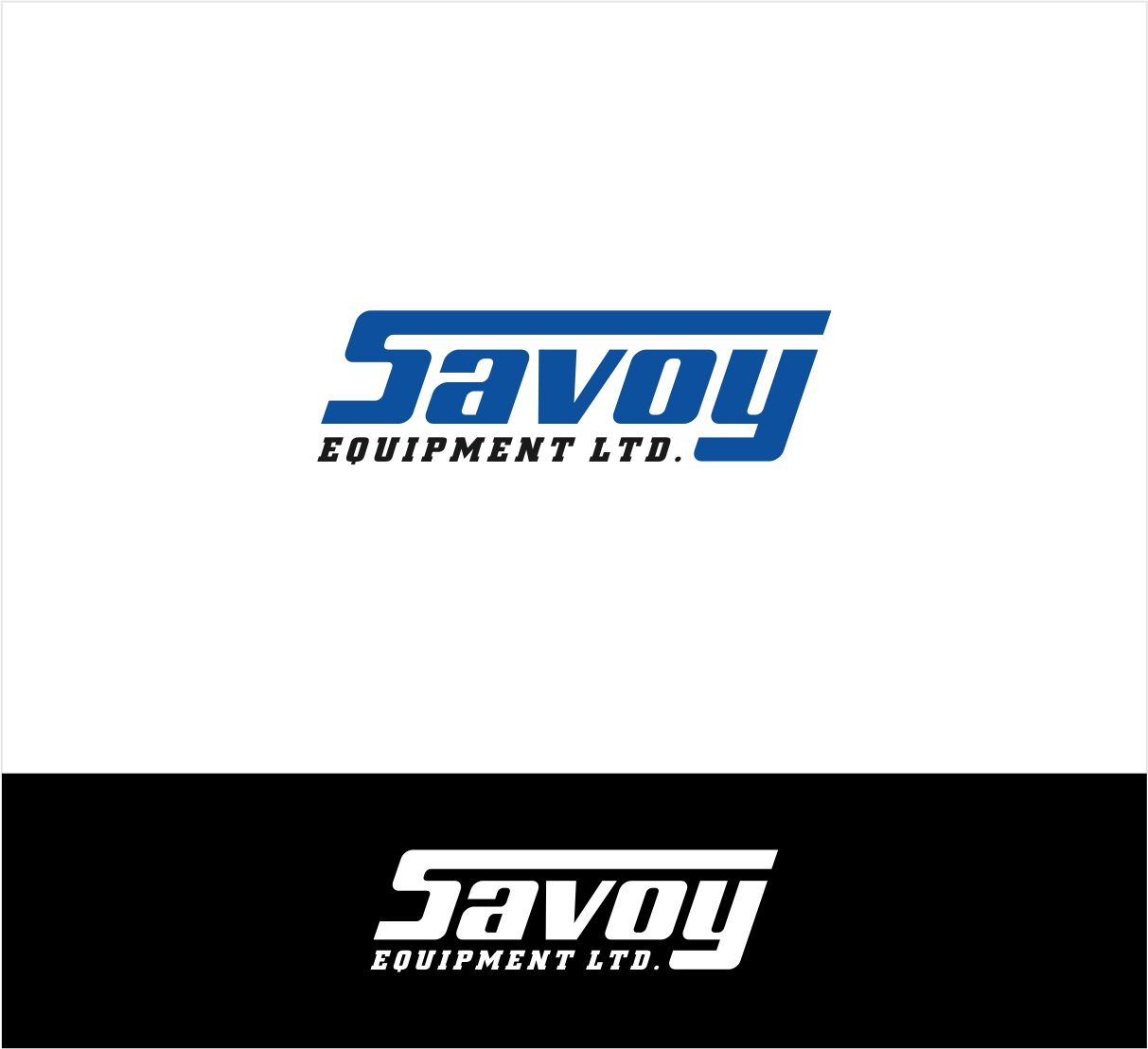 Logo Design by haidu - Entry No. 76 in the Logo Design Contest Inspiring Logo Design for Savoy Equipment Ltd..