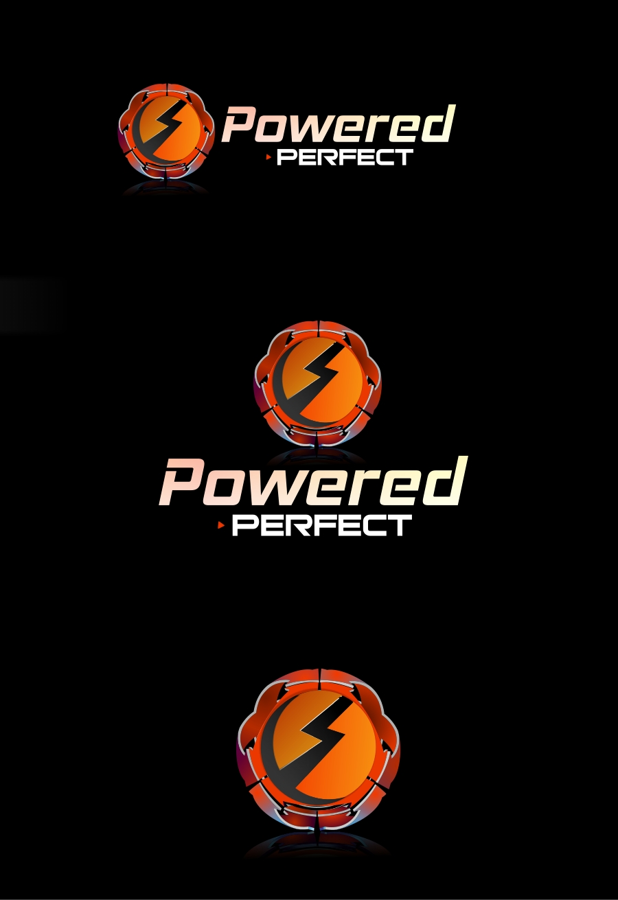 Logo Design by Private User - Entry No. 36 in the Logo Design Contest Captivating Logo Design for Powered Perfect.