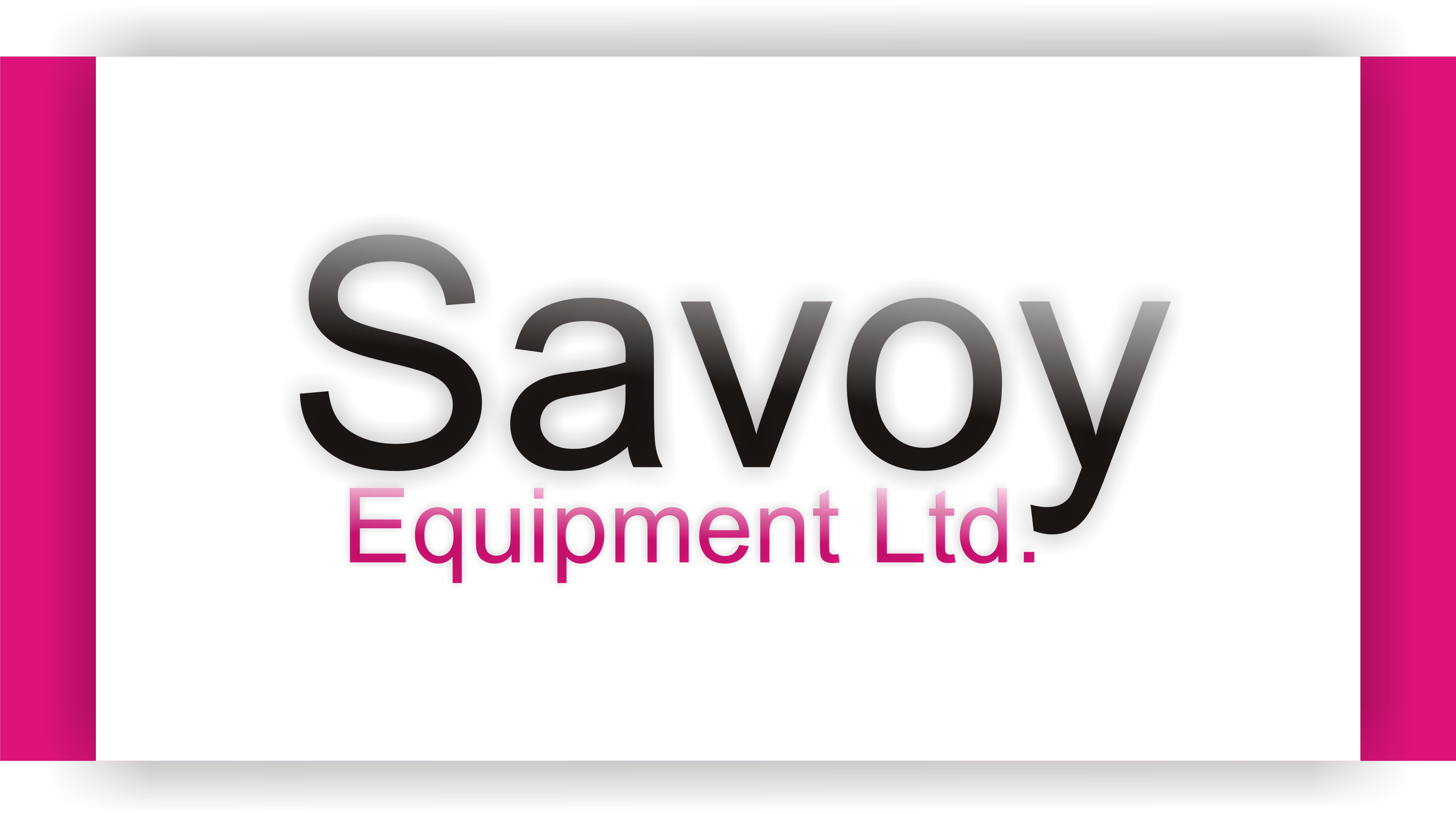 Logo Design by Shailender Kumar - Entry No. 86 in the Logo Design Contest Inspiring Logo Design for Savoy Equipment Ltd..