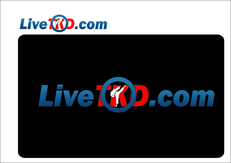 Logo Design by RasYa Muhammad Athaya - Entry No. 193 in the Logo Design Contest New Logo Design for LiveTKD.com.