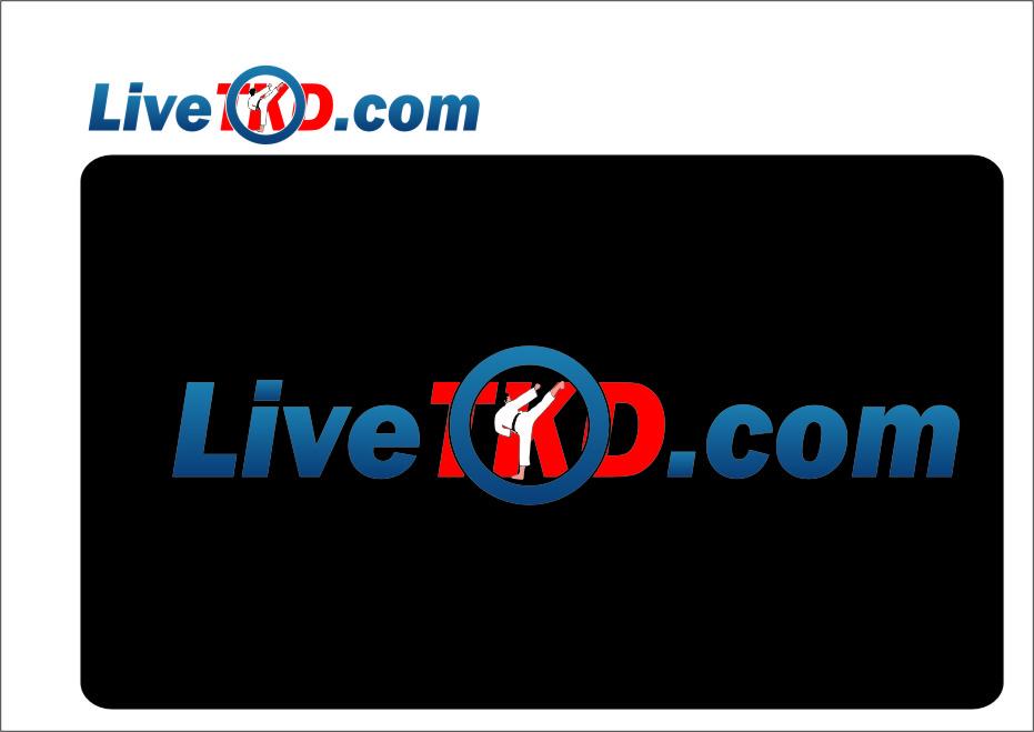 Logo Design by Ngepet_art - Entry No. 193 in the Logo Design Contest New Logo Design for LiveTKD.com.