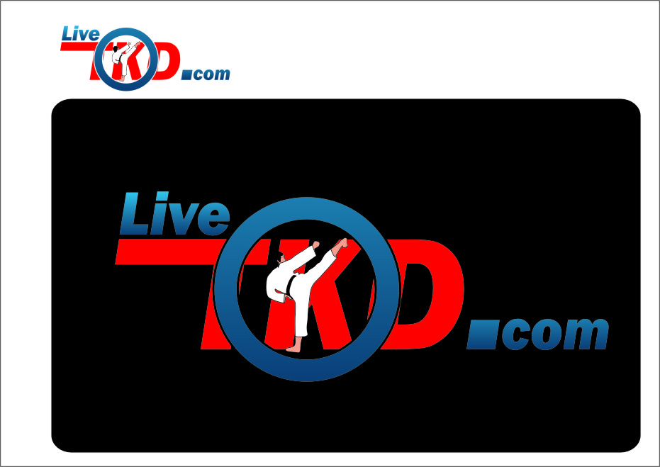 Logo Design by Ngepet_art - Entry No. 194 in the Logo Design Contest New Logo Design for LiveTKD.com.