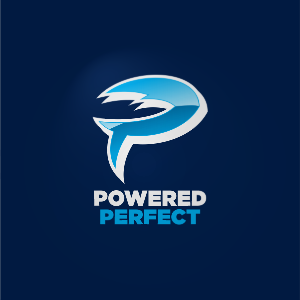 Logo Design by Private User - Entry No. 40 in the Logo Design Contest Captivating Logo Design for Powered Perfect.