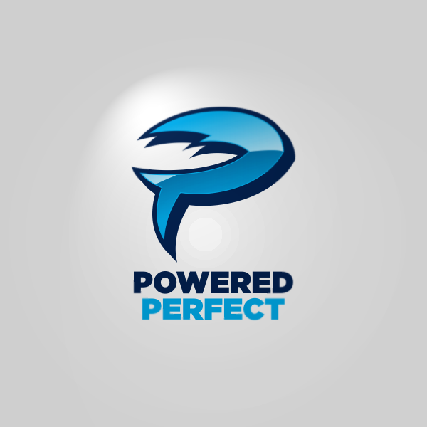 Logo Design by Private User - Entry No. 41 in the Logo Design Contest Captivating Logo Design for Powered Perfect.