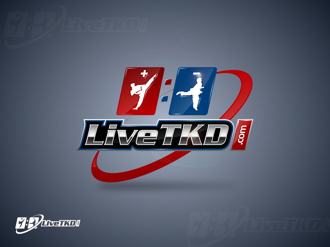 Logo Design by jpbituin - Entry No. 195 in the Logo Design Contest New Logo Design for LiveTKD.com.