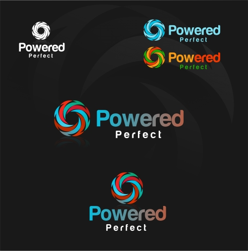 Logo Design by Private User - Entry No. 42 in the Logo Design Contest Captivating Logo Design for Powered Perfect.
