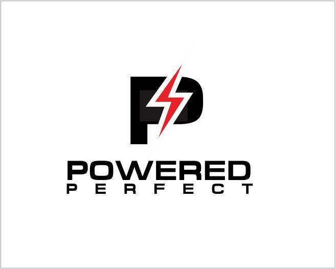 Logo Design by ronny - Entry No. 43 in the Logo Design Contest Captivating Logo Design for Powered Perfect.
