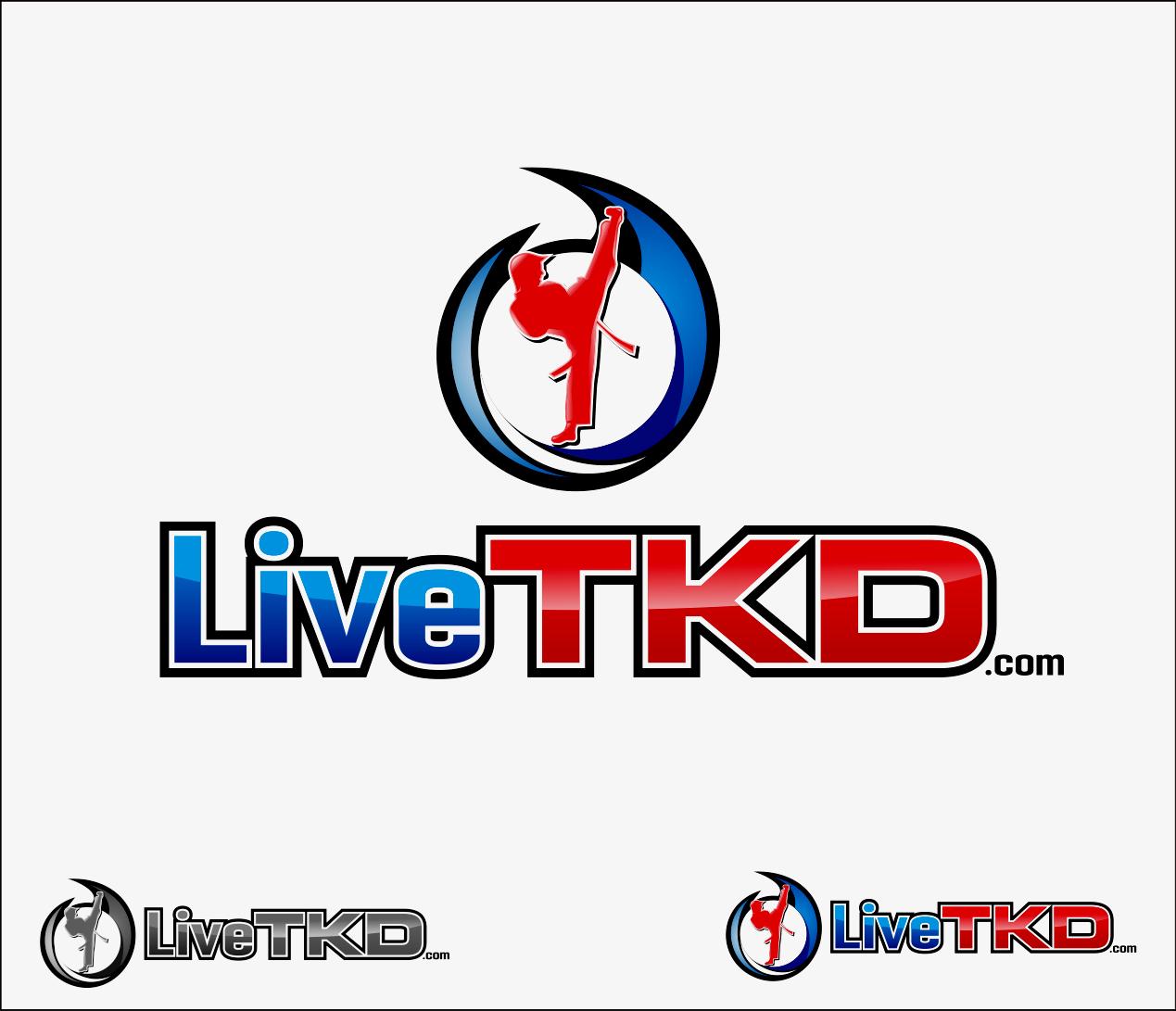 Logo Design by Armada Jamaluddin - Entry No. 196 in the Logo Design Contest New Logo Design for LiveTKD.com.