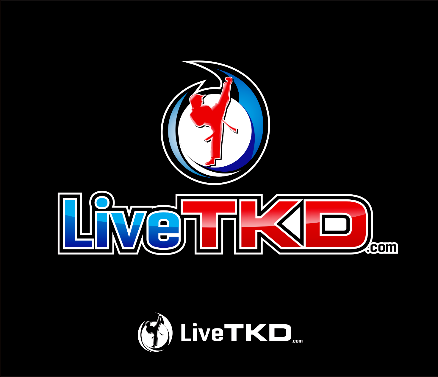 Logo Design by Armada Jamaluddin - Entry No. 197 in the Logo Design Contest New Logo Design for LiveTKD.com.