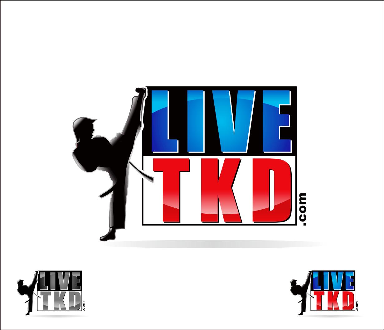 Logo Design by Armada Jamaluddin - Entry No. 199 in the Logo Design Contest New Logo Design for LiveTKD.com.