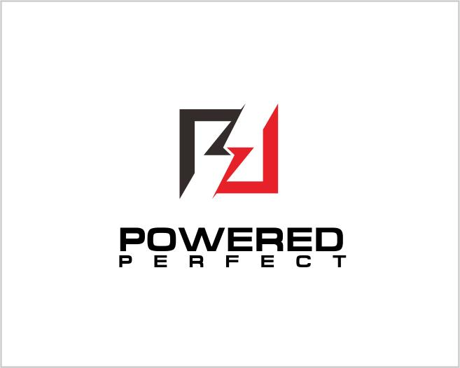 Logo Design by ronny - Entry No. 44 in the Logo Design Contest Captivating Logo Design for Powered Perfect.