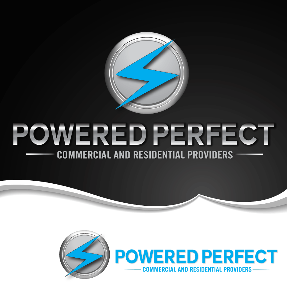 Logo Design by moonflower - Entry No. 45 in the Logo Design Contest Captivating Logo Design for Powered Perfect.