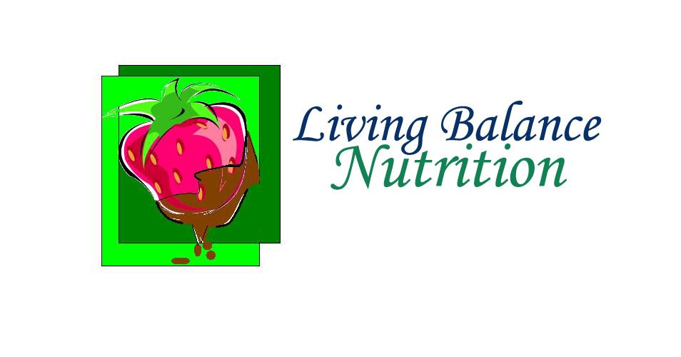 Logo Design by Mercedita Gerna-Castro - Entry No. 2 in the Logo Design Contest Unique Logo Design Wanted for Living Balance Nutrition.