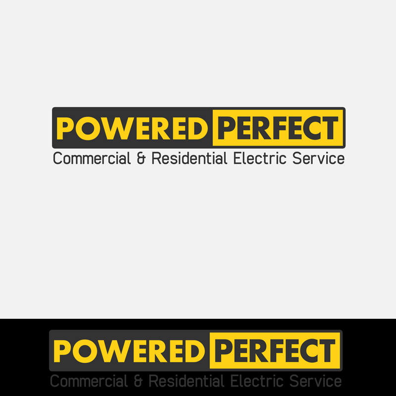 Logo Design by Private User - Entry No. 48 in the Logo Design Contest Captivating Logo Design for Powered Perfect.