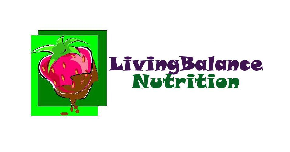 Logo Design by Mercedita Gerna-Castro - Entry No. 3 in the Logo Design Contest Unique Logo Design Wanted for Living Balance Nutrition.
