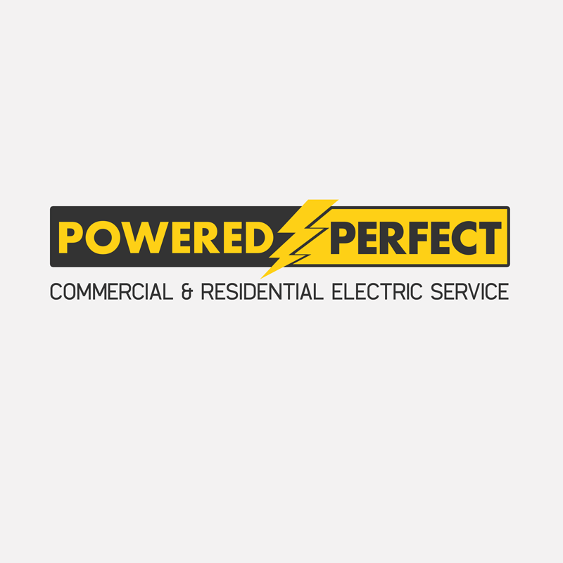 Logo Design by Private User - Entry No. 49 in the Logo Design Contest Captivating Logo Design for Powered Perfect.
