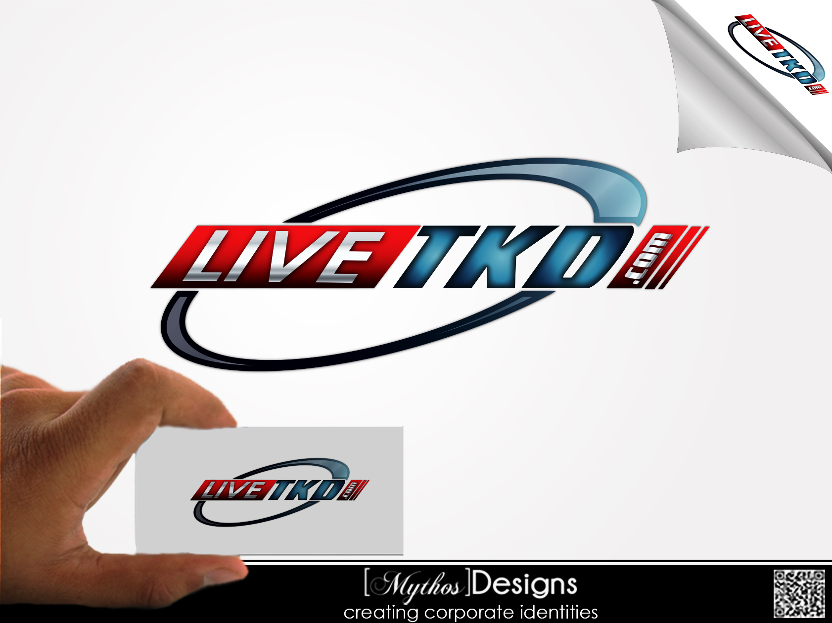 Logo Design by Mythos Designs - Entry No. 203 in the Logo Design Contest New Logo Design for LiveTKD.com.