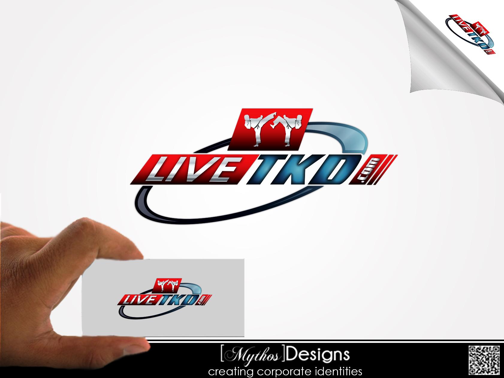 Logo Design by Mythos Designs - Entry No. 204 in the Logo Design Contest New Logo Design for LiveTKD.com.
