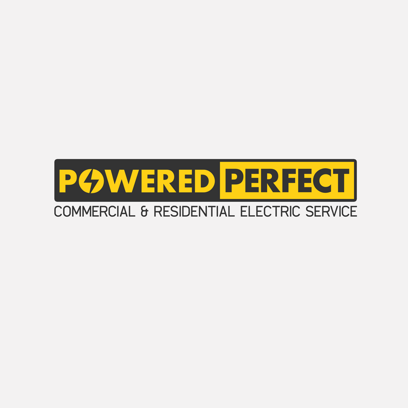 Logo Design by Robert Turla - Entry No. 50 in the Logo Design Contest Captivating Logo Design for Powered Perfect.