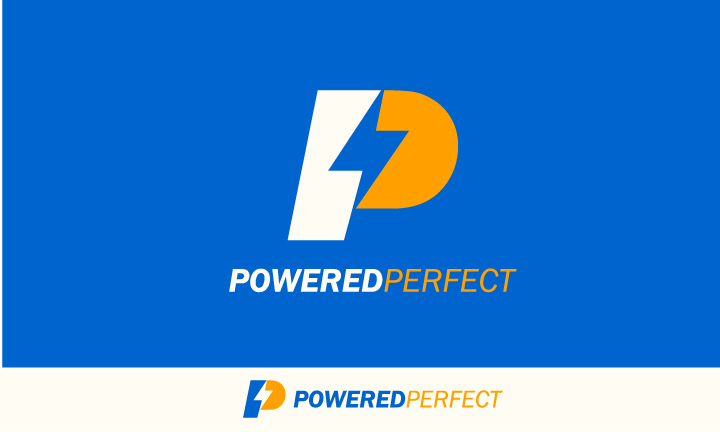 Logo Design by Top Elite - Entry No. 55 in the Logo Design Contest Captivating Logo Design for Powered Perfect.