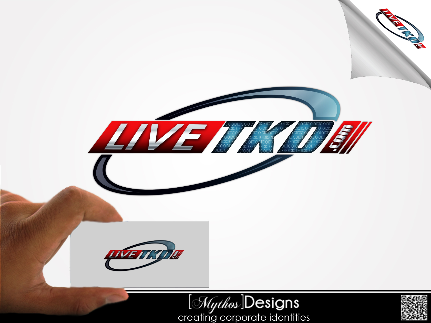 Logo Design by Mythos Designs - Entry No. 207 in the Logo Design Contest New Logo Design for LiveTKD.com.