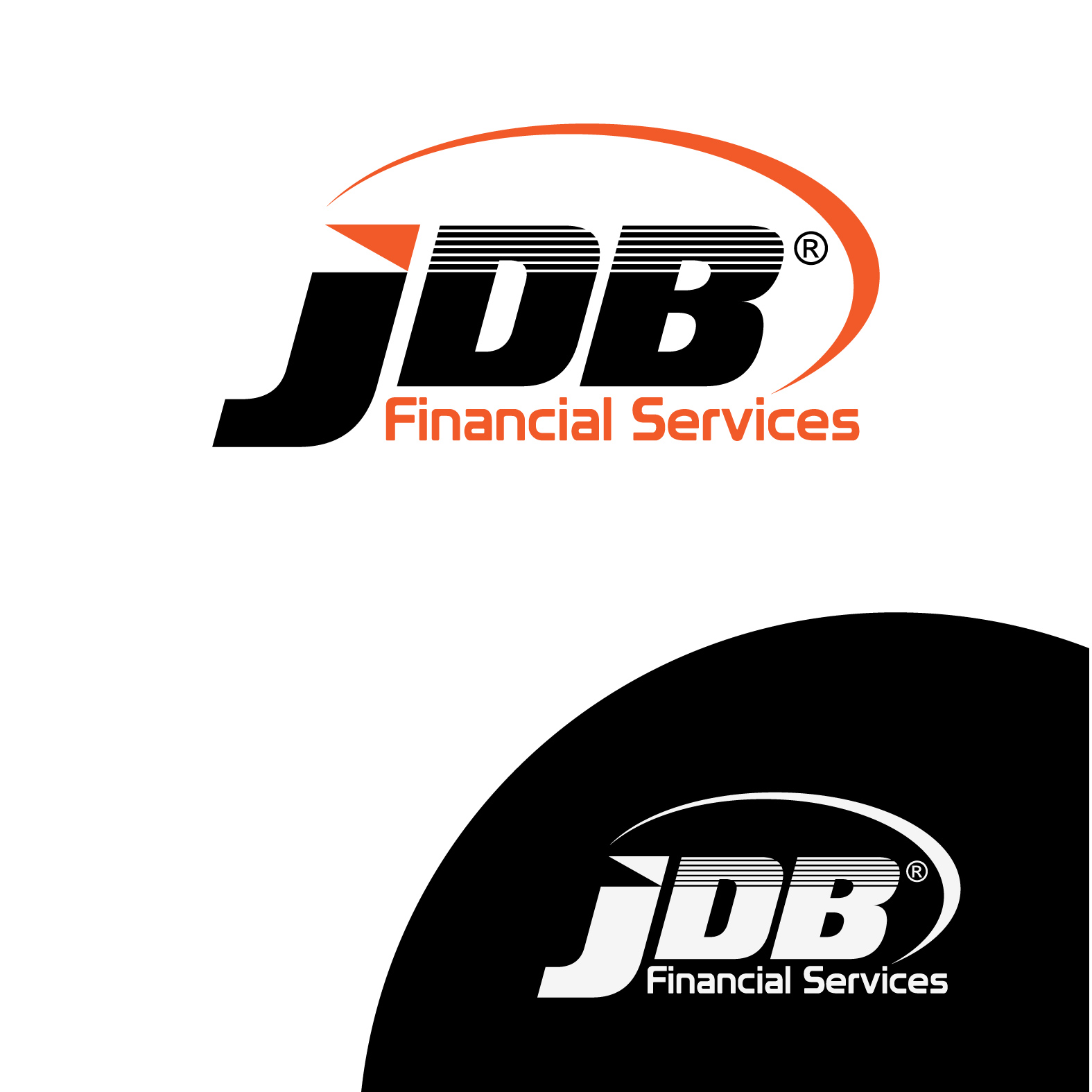 Logo Design by bisdak - Entry No. 7 in the Logo Design Contest Unique Logo Design Wanted for JDB Financial Services.