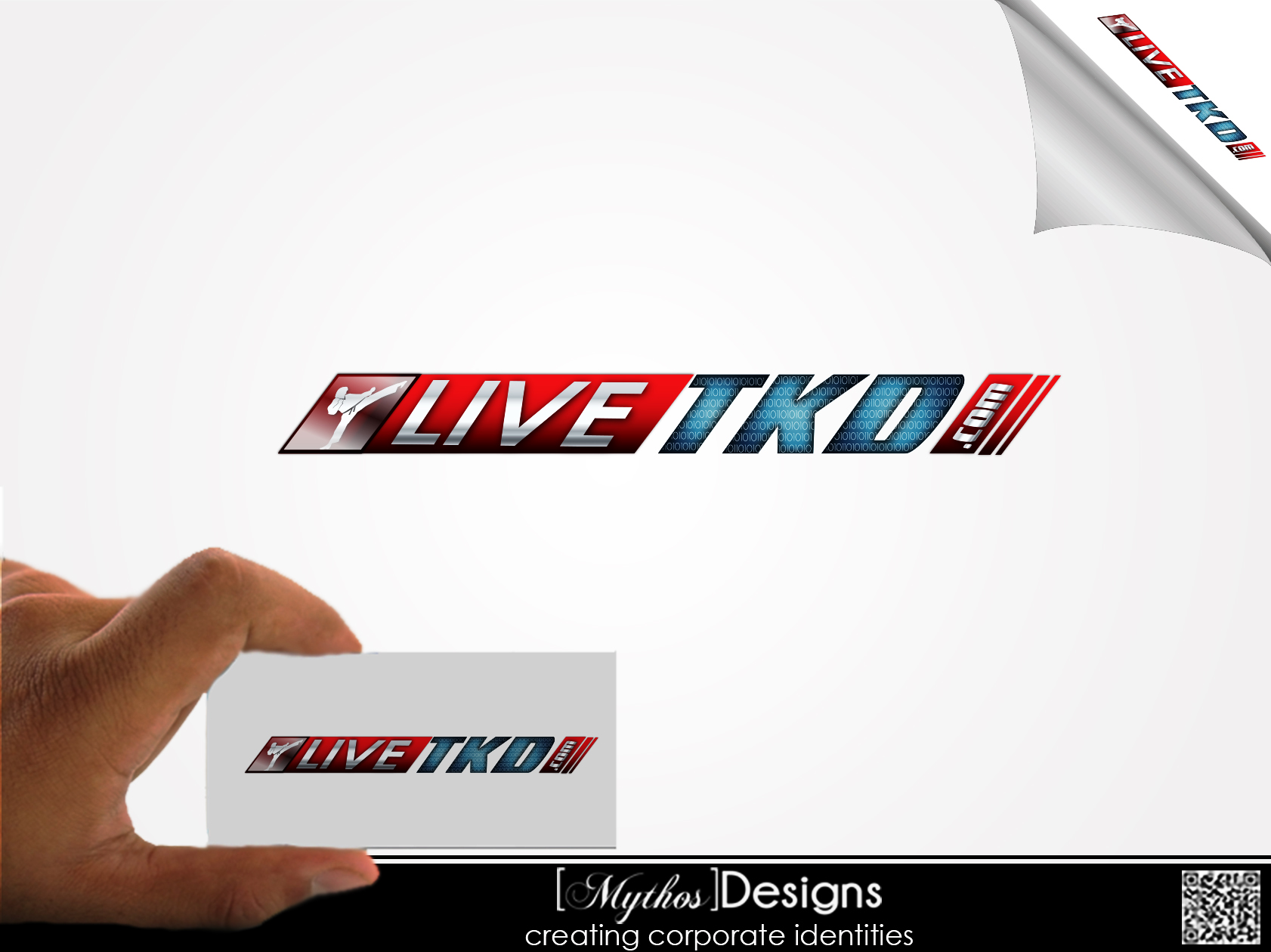 Logo Design by Mythos Designs - Entry No. 208 in the Logo Design Contest New Logo Design for LiveTKD.com.