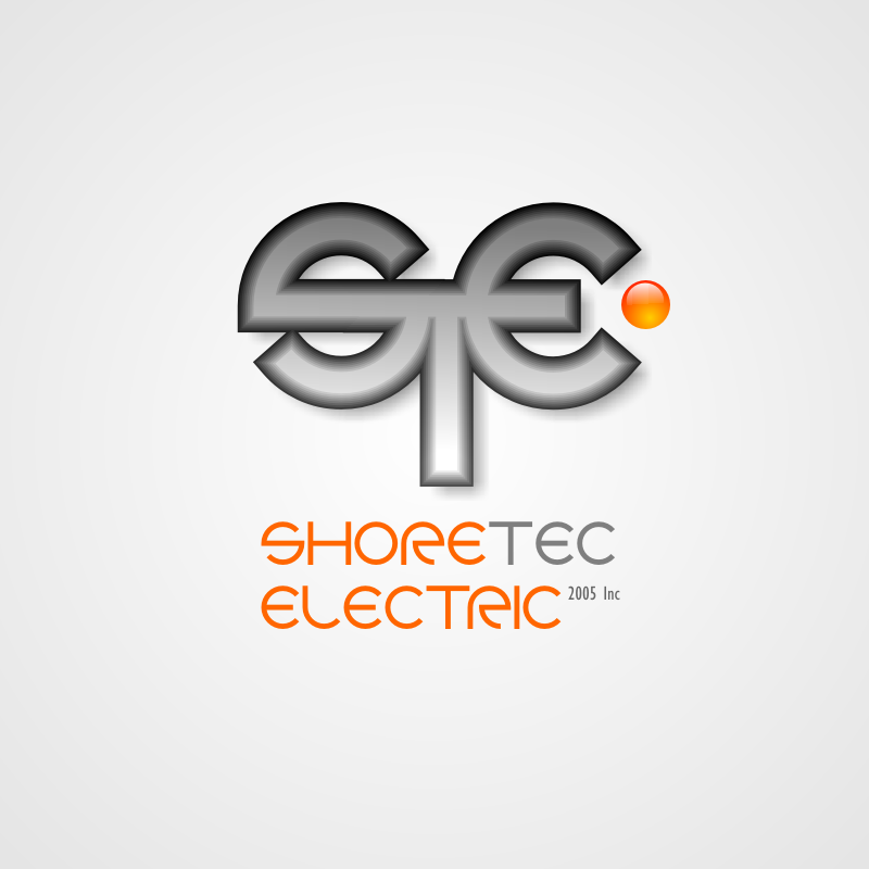 Logo Design by Rudy - Entry No. 140 in the Logo Design Contest Shore Tec Electric 2005 Inc.