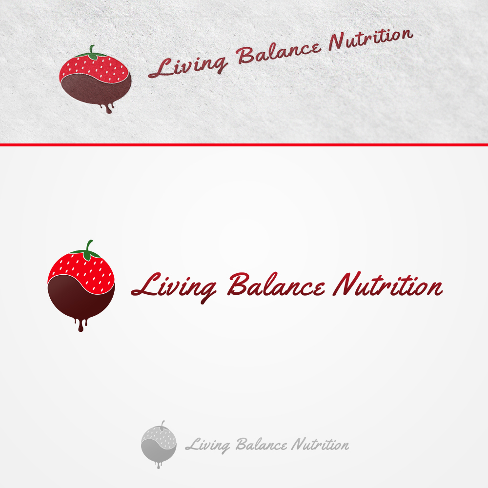 Logo Design by omARTist - Entry No. 8 in the Logo Design Contest Unique Logo Design Wanted for Living Balance Nutrition.