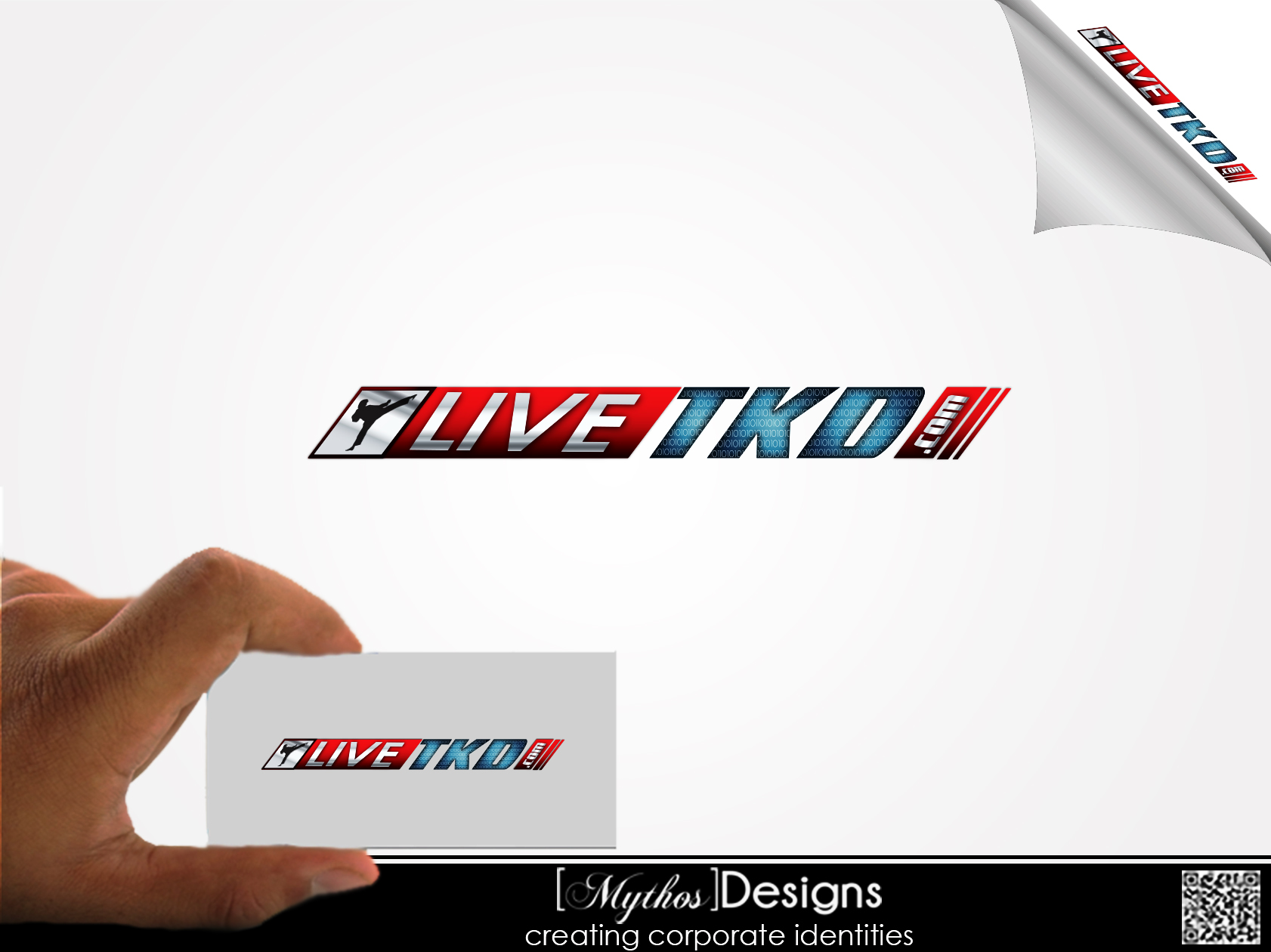 Logo Design by Mythos Designs - Entry No. 209 in the Logo Design Contest New Logo Design for LiveTKD.com.