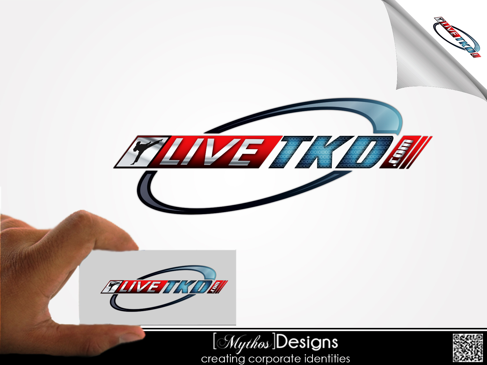Logo Design by Mythos Designs - Entry No. 210 in the Logo Design Contest New Logo Design for LiveTKD.com.