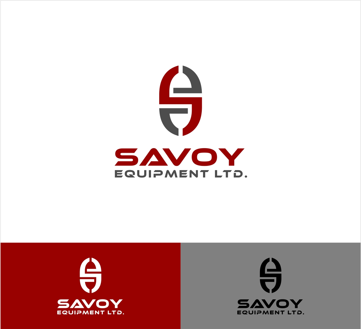 Logo Design by haidu - Entry No. 95 in the Logo Design Contest Inspiring Logo Design for Savoy Equipment Ltd..
