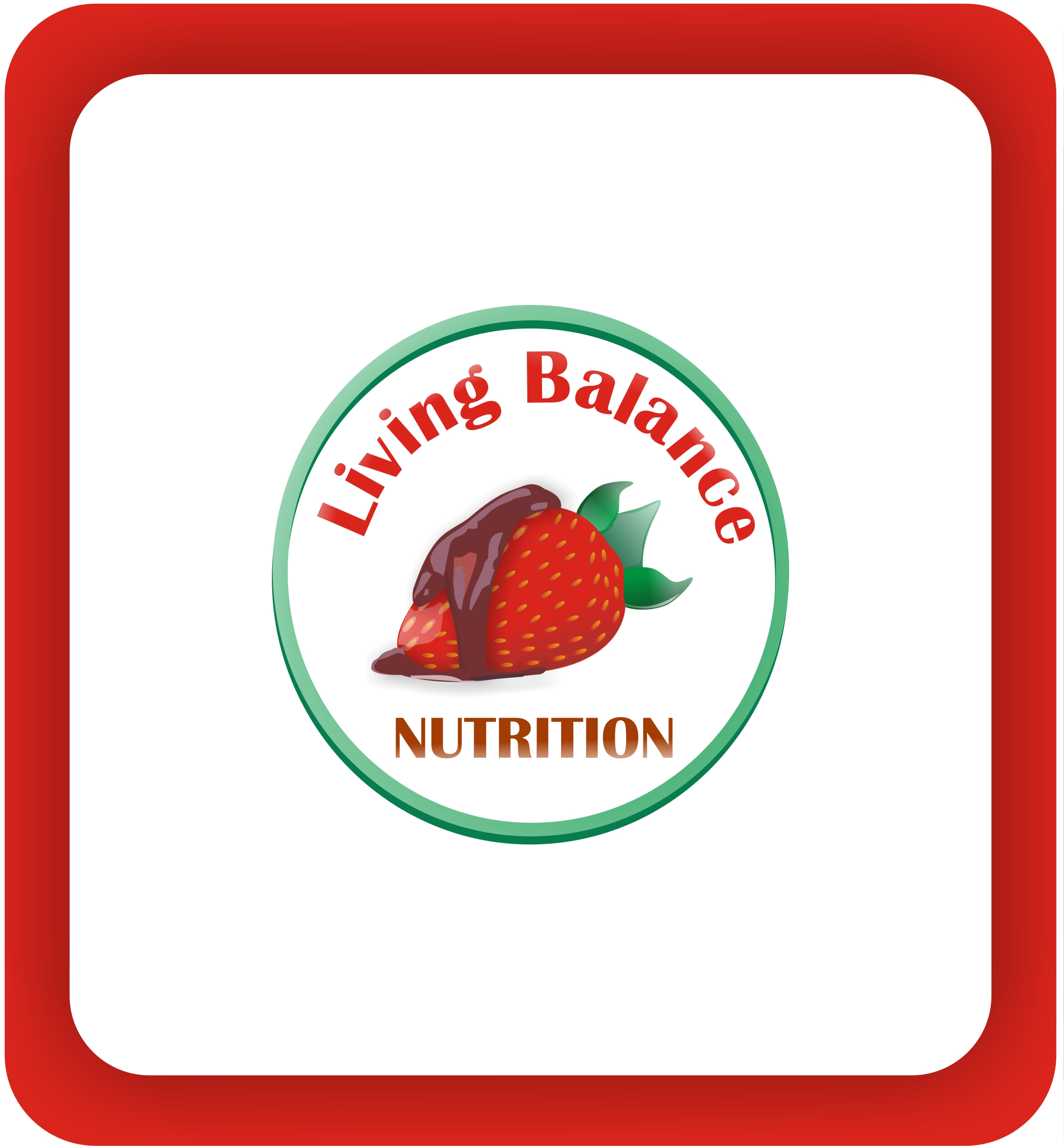 Logo Design by Shailender Kumar - Entry No. 9 in the Logo Design Contest Unique Logo Design Wanted for Living Balance Nutrition.