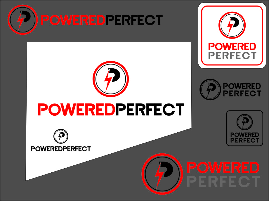 Logo Design by RasYa Muhammad Athaya - Entry No. 57 in the Logo Design Contest Captivating Logo Design for Powered Perfect.