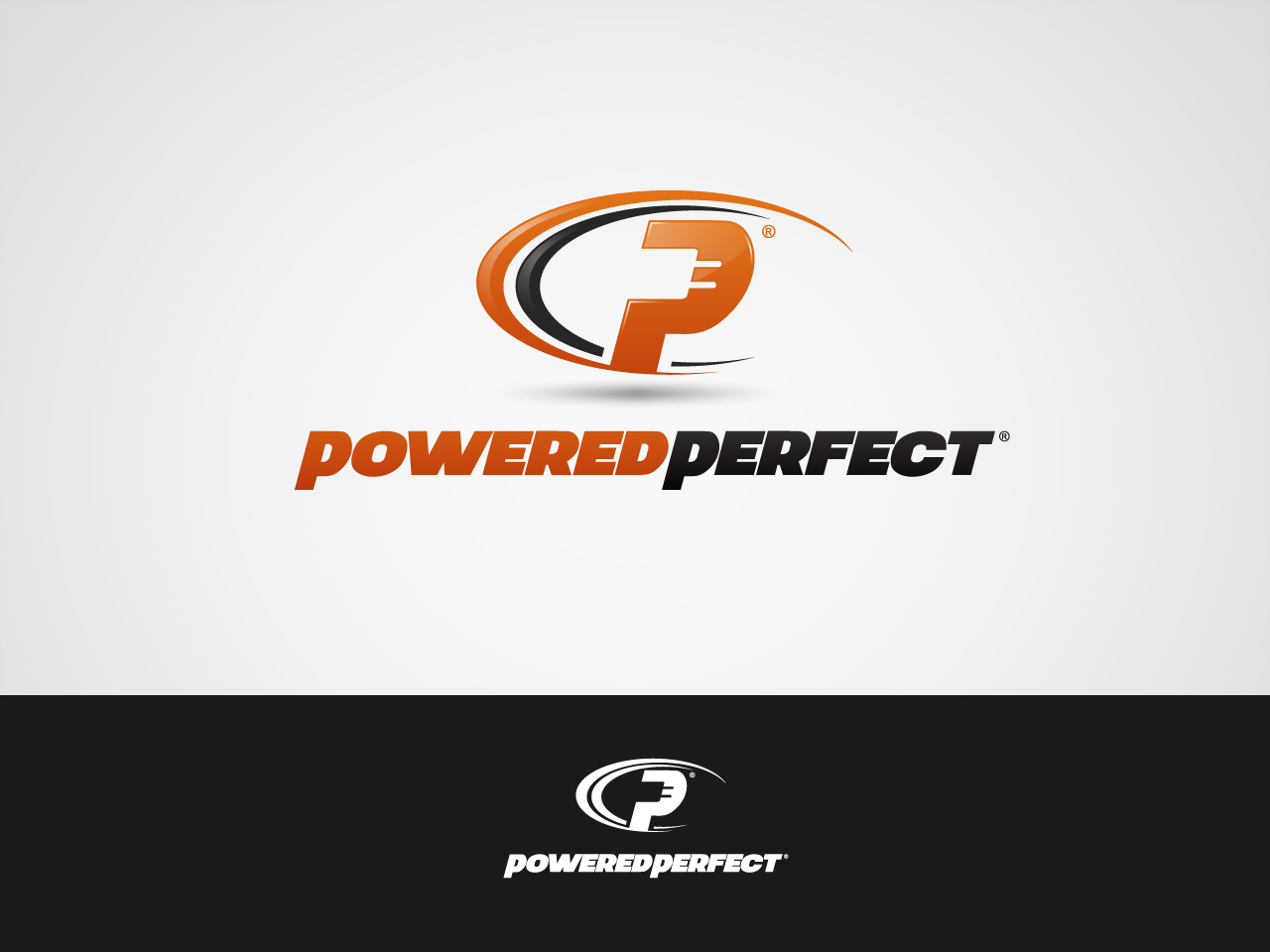 Logo Design by jpbituin - Entry No. 58 in the Logo Design Contest Captivating Logo Design for Powered Perfect.