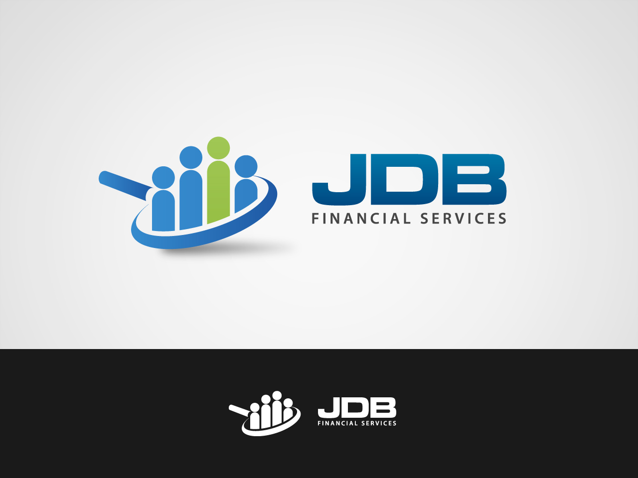 Logo Design by jpbituin - Entry No. 9 in the Logo Design Contest Unique Logo Design Wanted for JDB Financial Services.