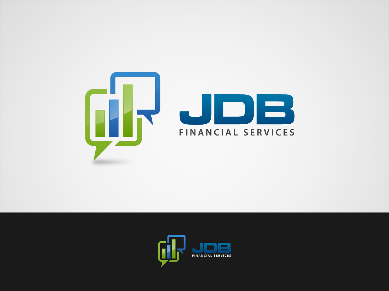 Logo Design by jpbituin - Entry No. 10 in the Logo Design Contest Unique Logo Design Wanted for JDB Financial Services.