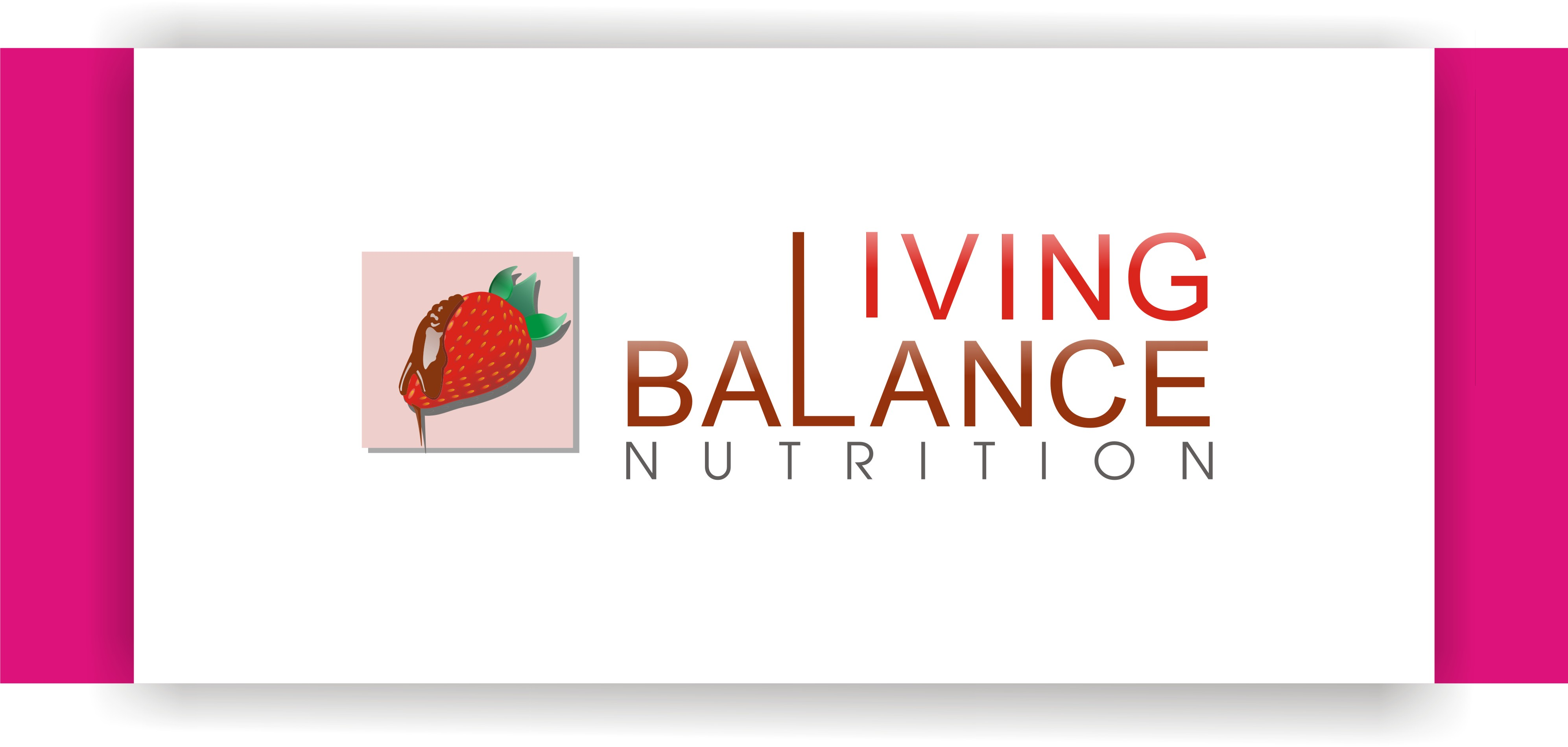 Logo Design by Shailender Kumar - Entry No. 11 in the Logo Design Contest Unique Logo Design Wanted for Living Balance Nutrition.
