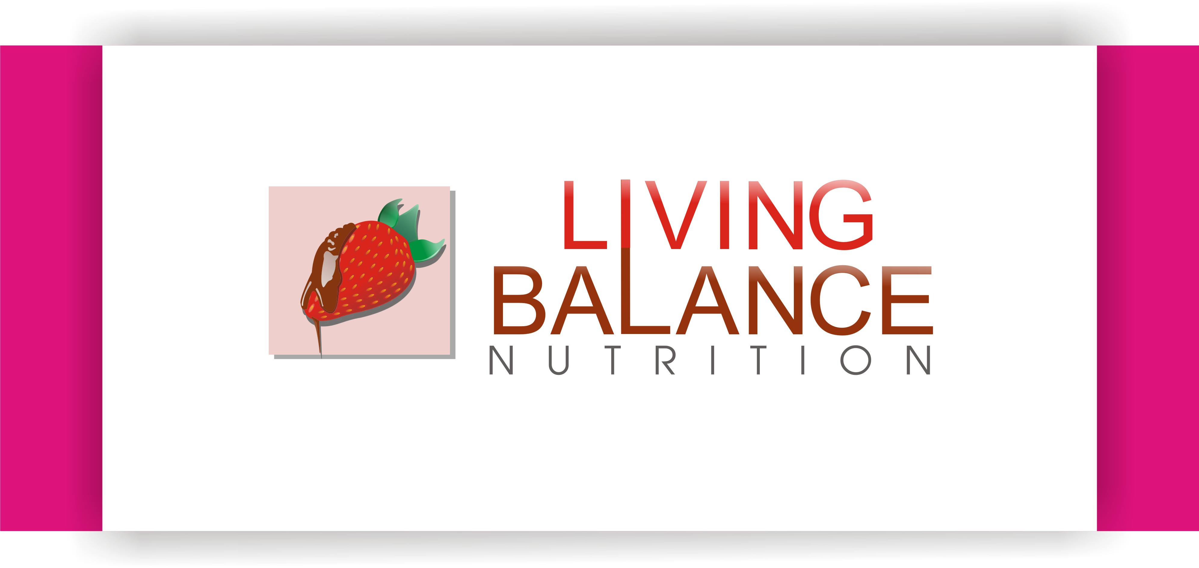 Logo Design by Shailender Kumar - Entry No. 14 in the Logo Design Contest Unique Logo Design Wanted for Living Balance Nutrition.