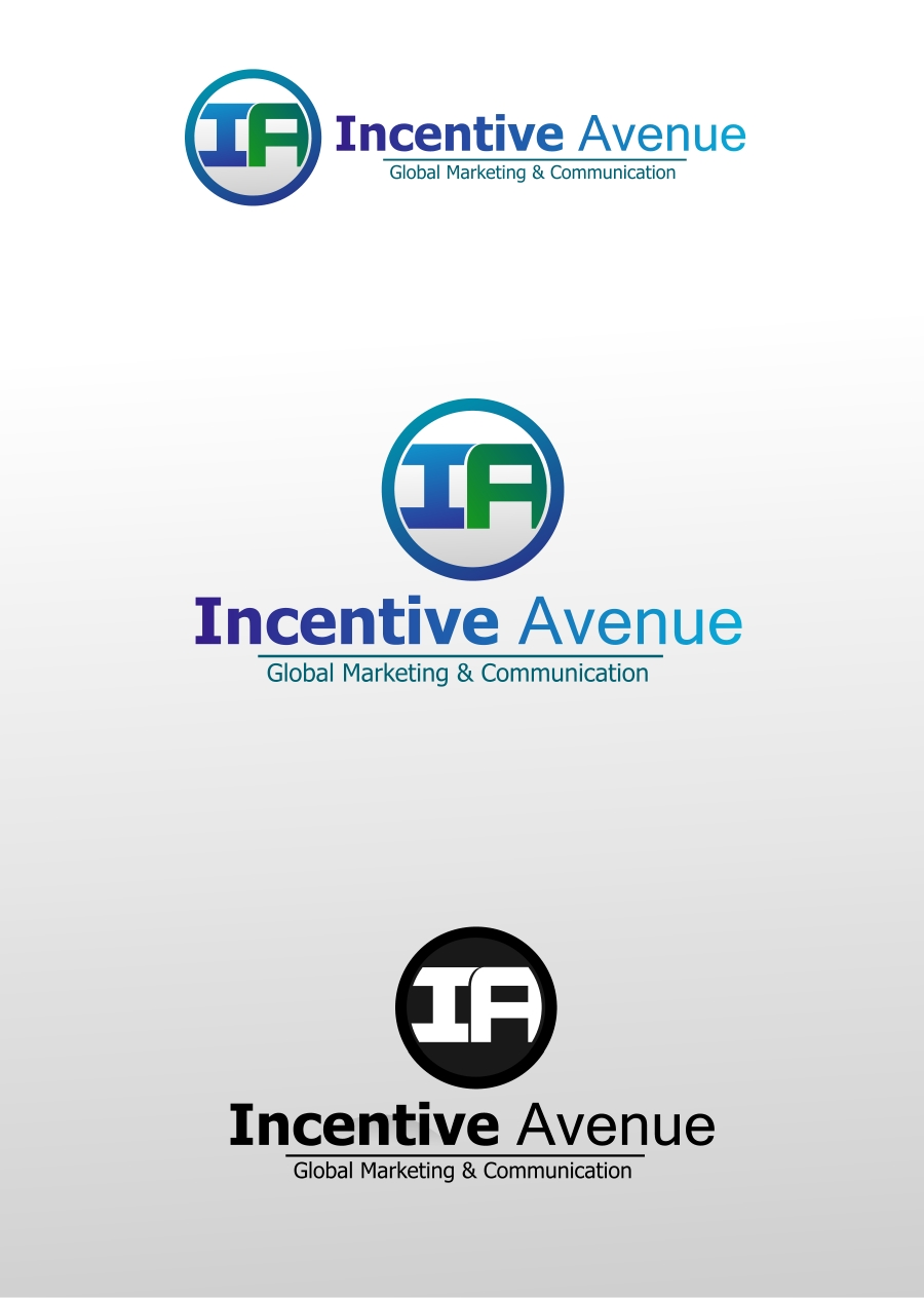 Logo Design by Private User - Entry No. 13 in the Logo Design Contest New Logo Design for Incentive Avenue.