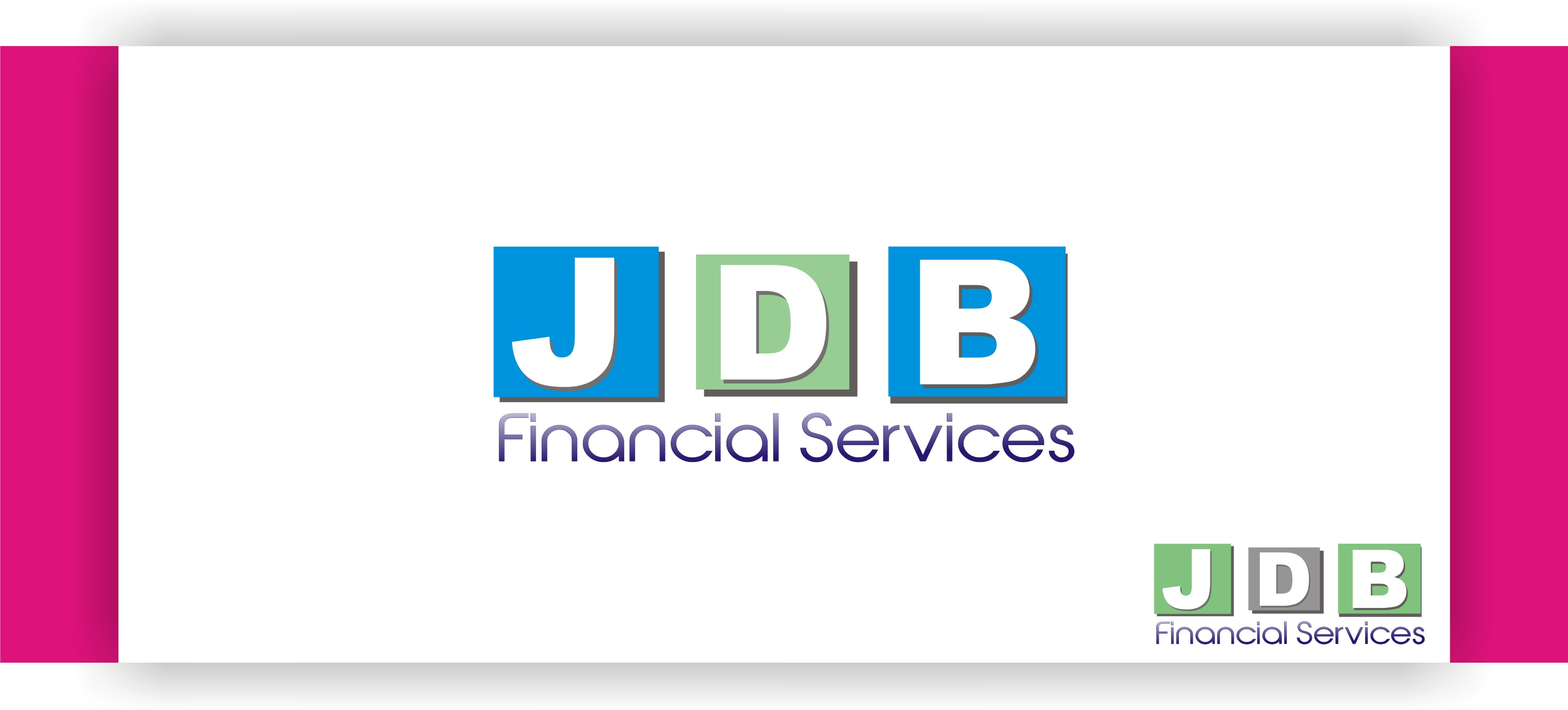 Logo Design by Shailender Kumar - Entry No. 11 in the Logo Design Contest Unique Logo Design Wanted for JDB Financial Services.