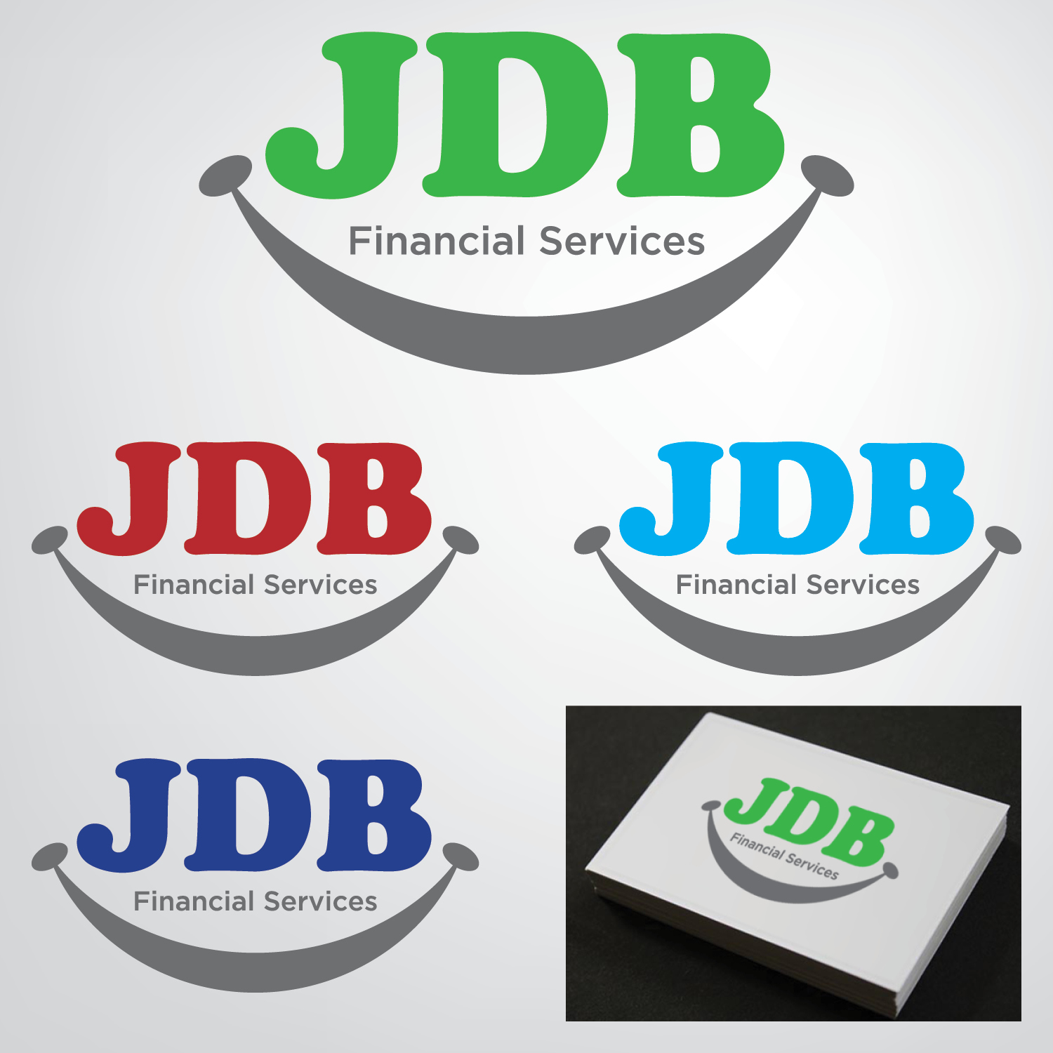 Logo Design by ISaac Law - Entry No. 14 in the Logo Design Contest Unique Logo Design Wanted for JDB Financial Services.
