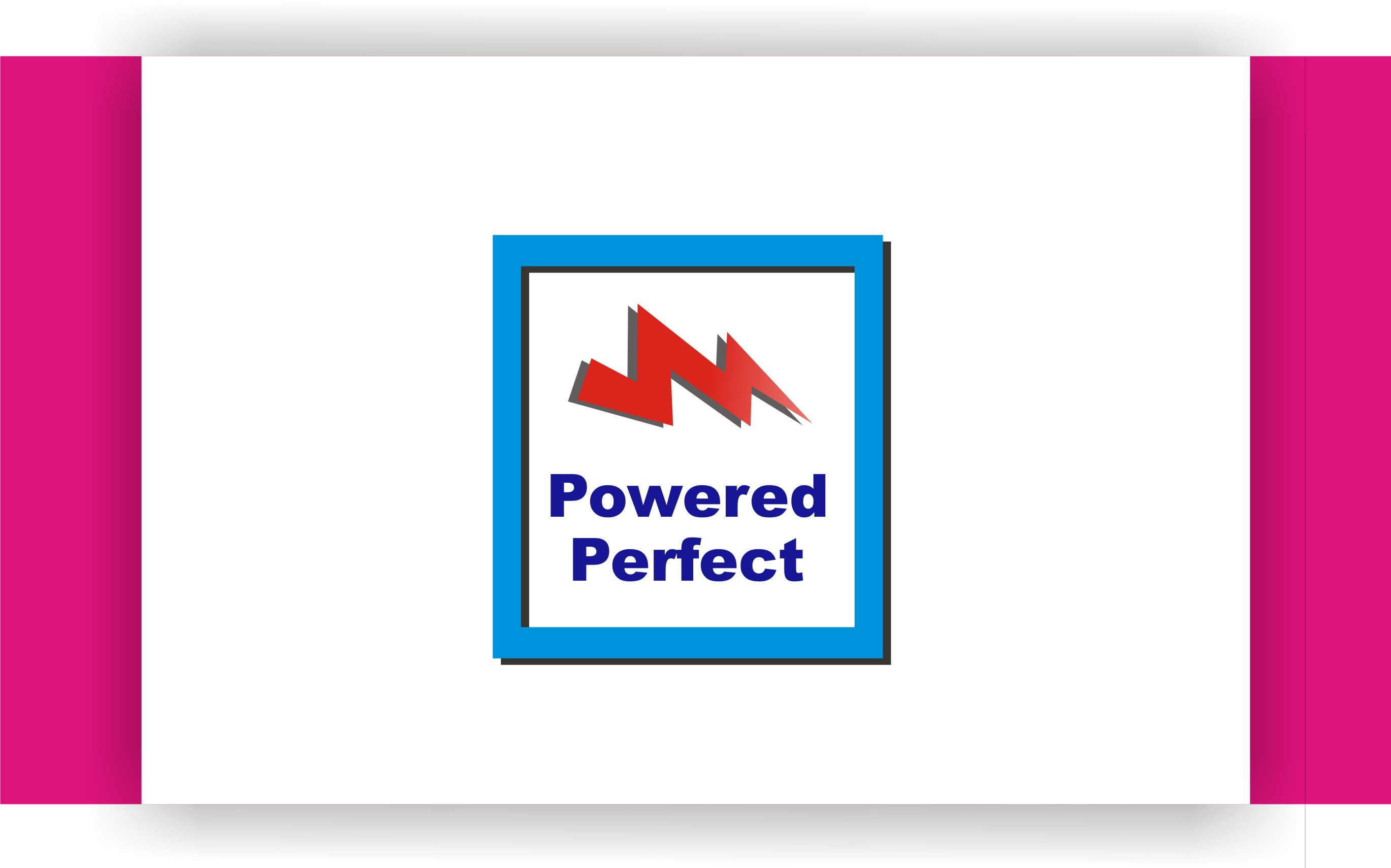 Logo Design by Shailender Kumar - Entry No. 62 in the Logo Design Contest Captivating Logo Design for Powered Perfect.