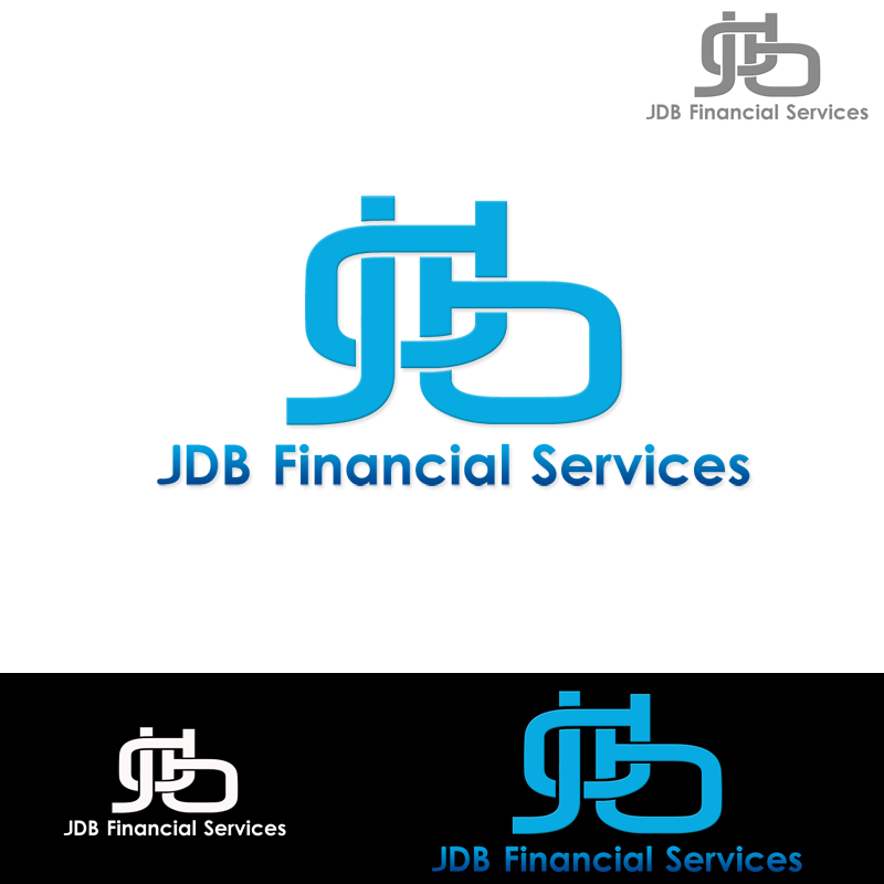 Logo Design by Robert Turla - Entry No. 16 in the Logo Design Contest Unique Logo Design Wanted for JDB Financial Services.