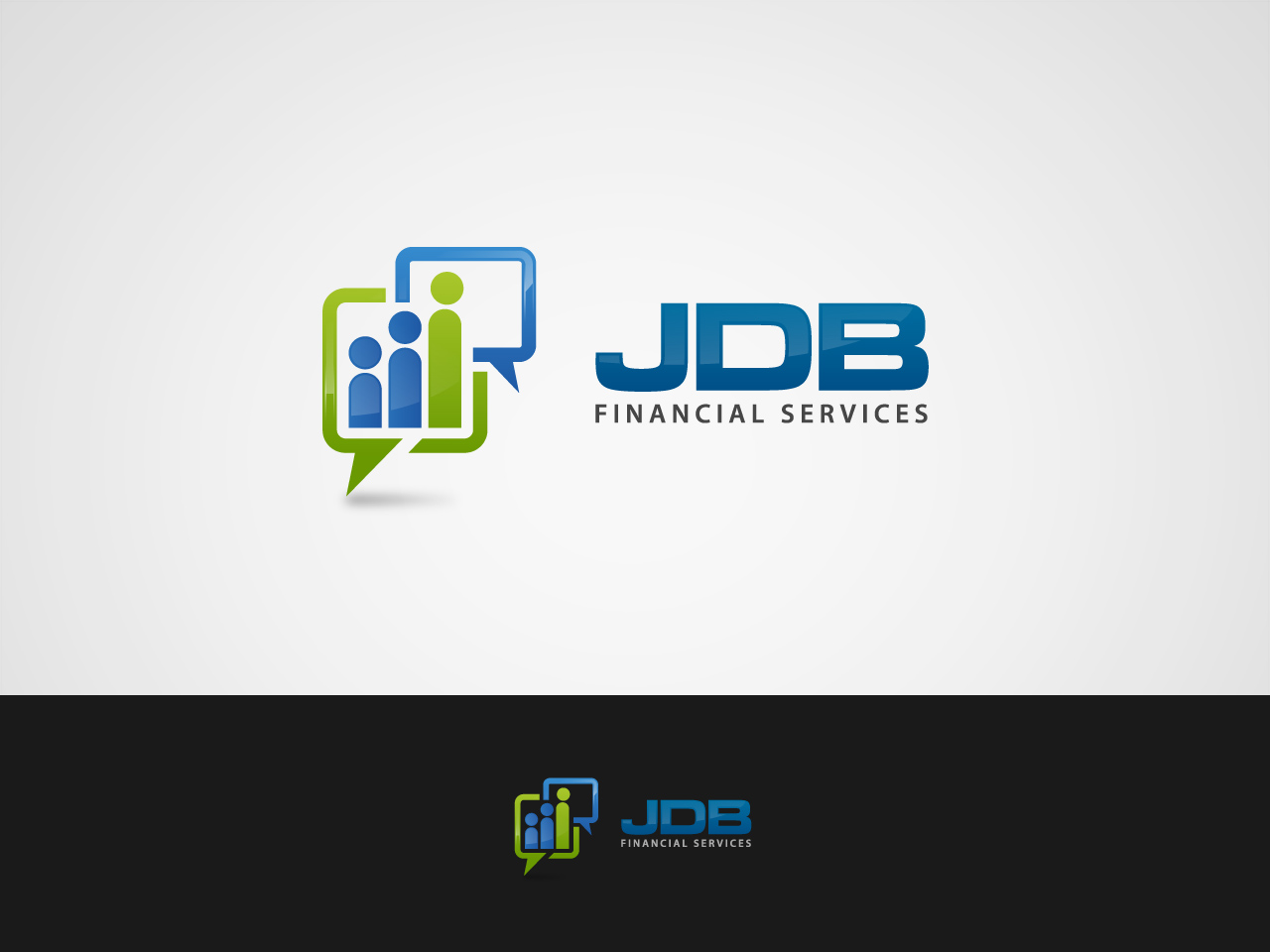 Logo Design by jpbituin - Entry No. 19 in the Logo Design Contest Unique Logo Design Wanted for JDB Financial Services.