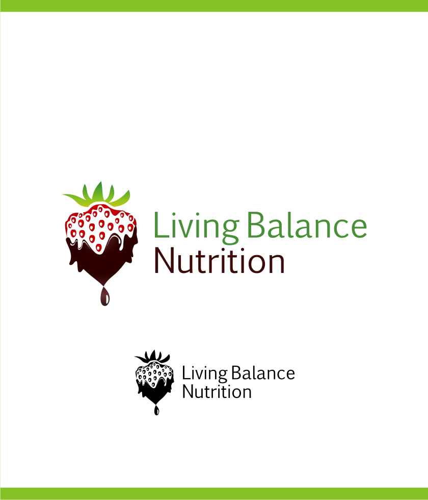 Logo Design by Muhammad Nasrul chasib - Entry No. 15 in the Logo Design Contest Unique Logo Design Wanted for Living Balance Nutrition.