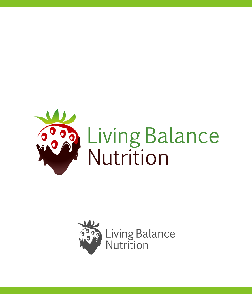 Logo Design by graphicleaf - Entry No. 16 in the Logo Design Contest Unique Logo Design Wanted for Living Balance Nutrition.