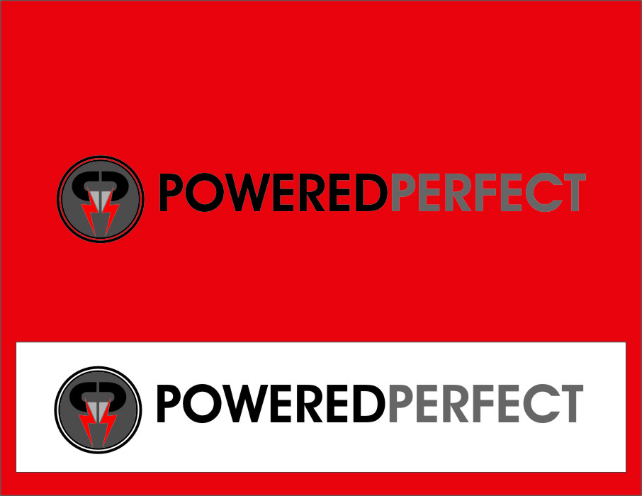 Logo Design by RoSyid Rono-Rene On Java - Entry No. 63 in the Logo Design Contest Captivating Logo Design for Powered Perfect.